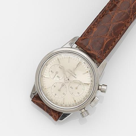 Omega. A stainless steel manual wind chronograph wristwatch Seamaster, Ref:105.004-64, Movement No.22082895, Circa 1965