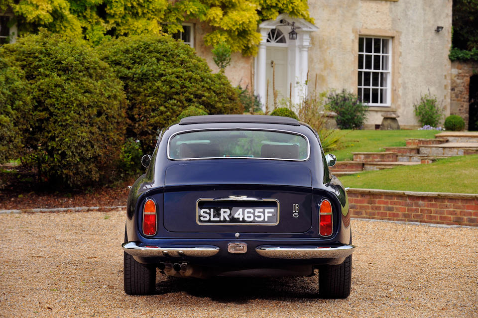 1967 Aston Martin DB6 Sports Saloon  Chassis no. DB6/3260/R Engine no. 400/3335