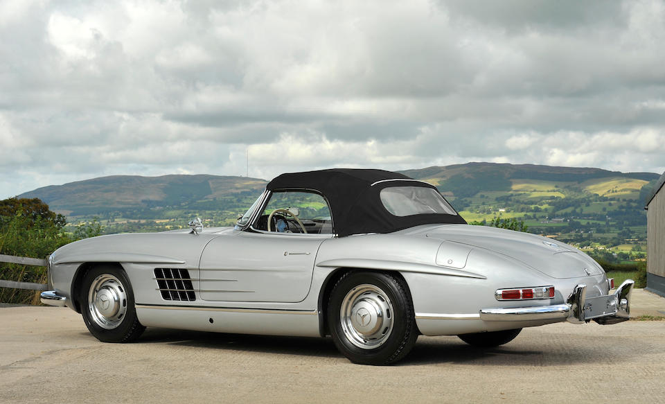 1957 Mercedes-Benz 300SL Roadster  Chassis no. 198.042.7500328 Engine no. 198.980.7500345