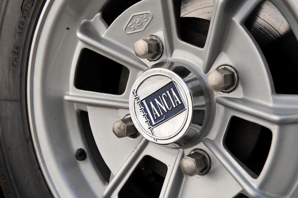 1967 Lancia Fulvia Sport 1300 Zagato Coupé  Chassis no. 818312001155 Engine no. 818302017859