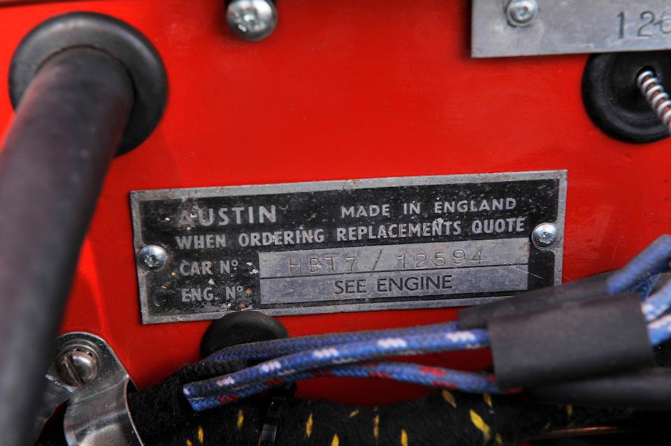 1960 Austin-Healey 3000 'MkI' Rally Car Replica  Chassis no. HBT712594 Engine no. 29D-RU-H/22475