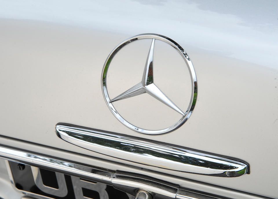 1966 Mercedes-Benz 230SL Convertible  Chassis no. 1134222013858 Engine no. 31511966