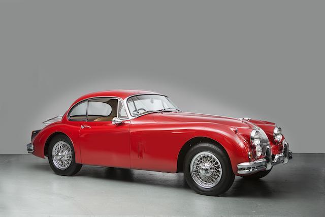 1960 Jaguar XK150S 3.8-Litre Coupé  Chassis no. T825181DN Engine no. VAS1153-9