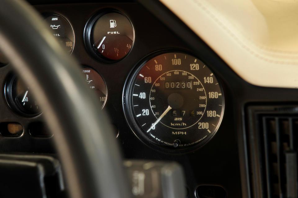 Delivery mileage only,1986 Aston Martin V8 Vantage Zagato Coupé  Chassis no. 20049 Engine no. V580/0049/X