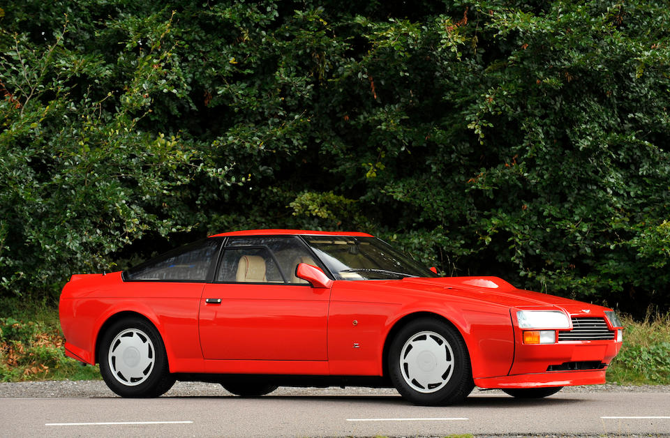 Delivery mileage only,1986 Aston Martin V8 Vantage Zagato Coupé  Chassis no. 20049 Engine no. V580/0049/X