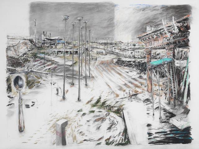 William Joseph Kentridge (South African, born 1955) An Embarkation