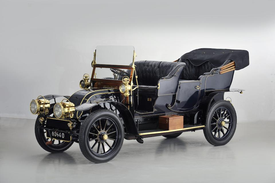 Originally the property of Olry Roederer of the champagne house Louis Roderer, Reims,1904 CGV 6¼-Litre Type H1 Four-Cylinder Side-entrance Phaeton  Chassis no. 2054 Engine no. 2054