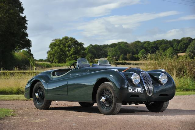 1951 Jaguar XK120 Alloy-bodied Roadster  Chassis no. 671751 Engine no. E-5393-8