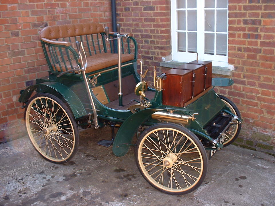 1899 Peugeot Type 26  Chassis no. 925 Engine no. 570