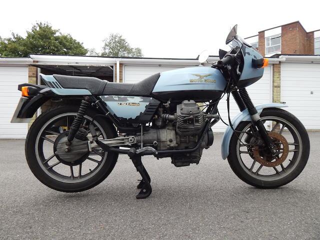 1983 Moto Guzzi 490cc V50 Monza Frame no. 12180 Engine no. 23177