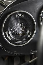 1961 Fiat Abarth 1000 Bialbero 'Record Monza'  Chassis no. 987382