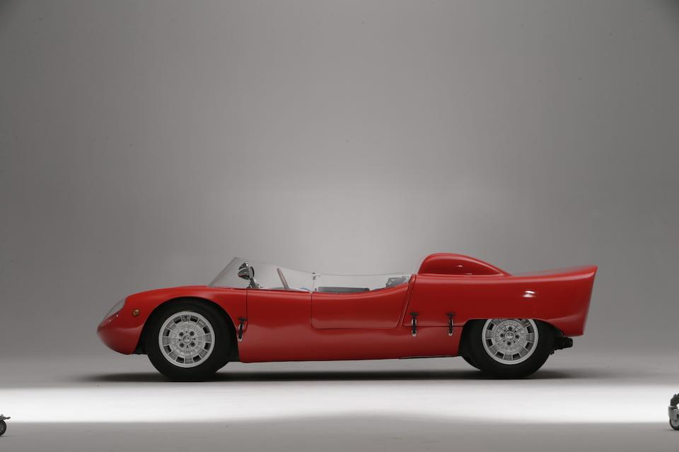 1962 Abarth 1000 Sport 131-MC Spider Tubolare  Chassis no. 131-003