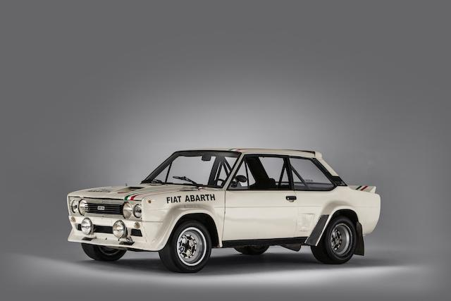 1978 Fiat Abarth Rallye 131 Supermirafiore Group 4 Specification World Championship Rally Competition Saloon  Chassis no. 2045727