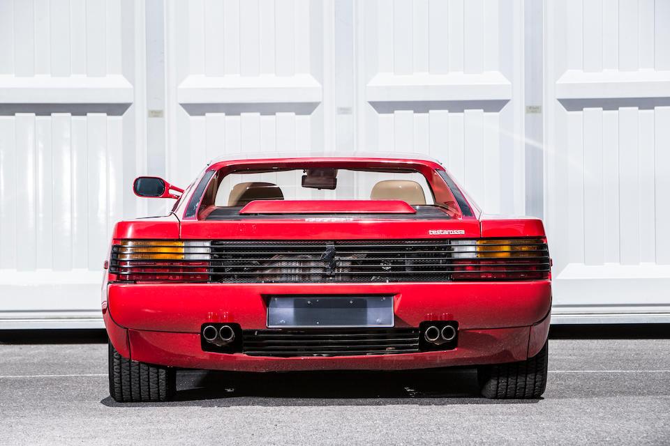 1986  Ferrari Testarossa Coupé  Chassis no. ZFFAA17B000062173