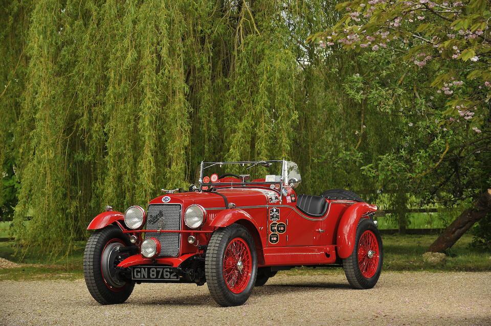 The ex-1930 Mille Miglia Class winner and 5th Overall (Bassi/Gazzabini), 1930 Targa Florio (Cau.Minoia), 1930 Irish Grand Prix (G.Ramponi) and 1930 Tourist Trophy, ex-Heiko Seekamp, regular Mille Miglia retrospective entrant and finisher,1930 OM  665 SS MM Superba 2.3 Litre Supercharged Sports Tourer  Chassis no. 6651095 Engine no. 6651095