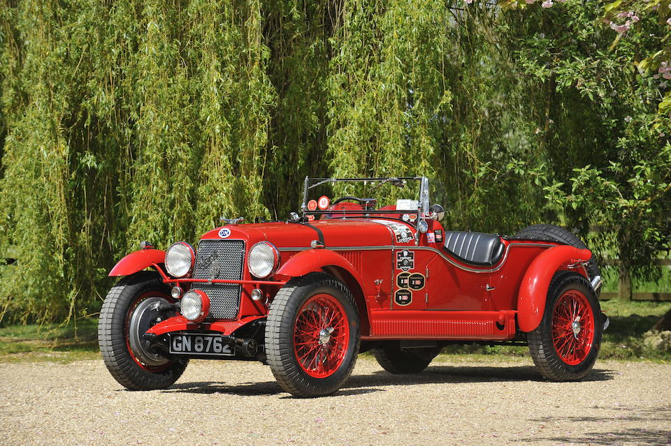 The ex-1930 Mille Miglia Class winner and 5th Overall (Bassi/Gazzabini), 1930 Targa Florio (Cau.Minoia), 1930 Irish Grand Prix (G.Ramponi) and 1930 Tourist Trophy, ex-Heiko Seekamp, regular Mille Miglia retrospective entrant and finisher,1930 OM  665 SS MM Superba 2.3 Litre Supercharged Sports Tourer  Chassis no. 6651095 Engine no. 6651095