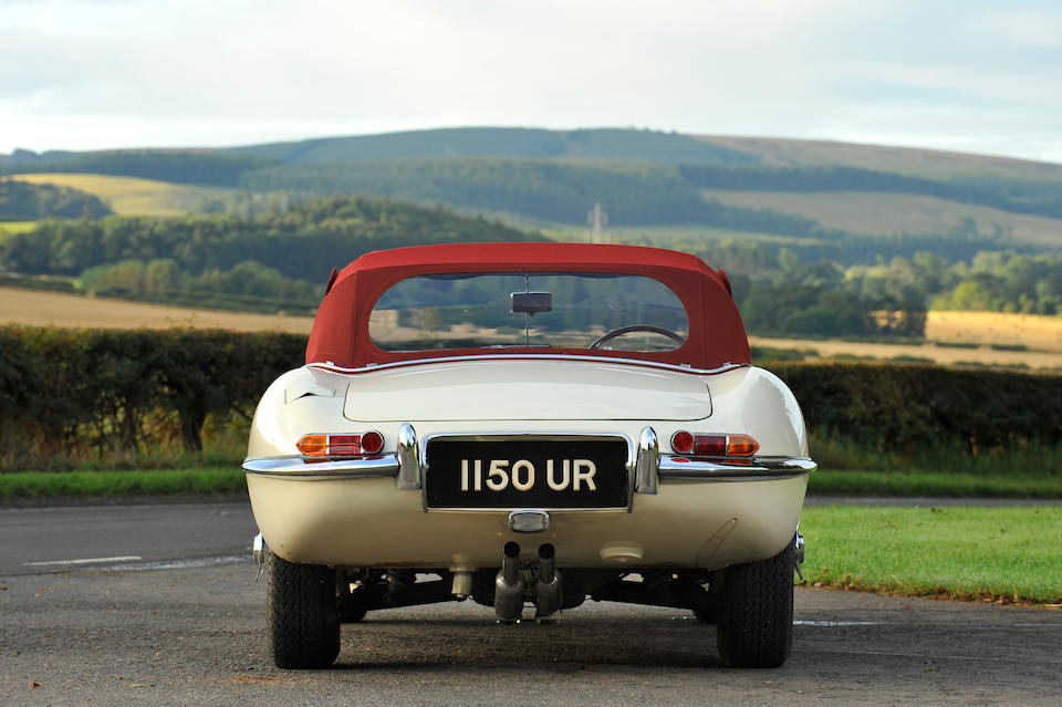 1961 Jaguar E-Type 3.8-Litre 'Flat Floor' Roadster  Chassis no. 850102 Engine no. 1655-9