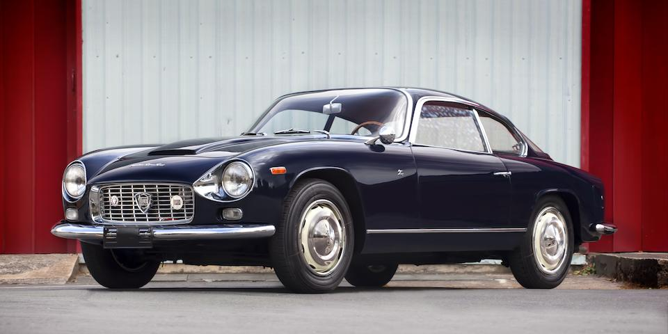One of only 187 built,1965 Lancia Flaminia Super Sport 2.8-Litre 3C 'Double Bubble' Coupé Chassis no. 826232002060