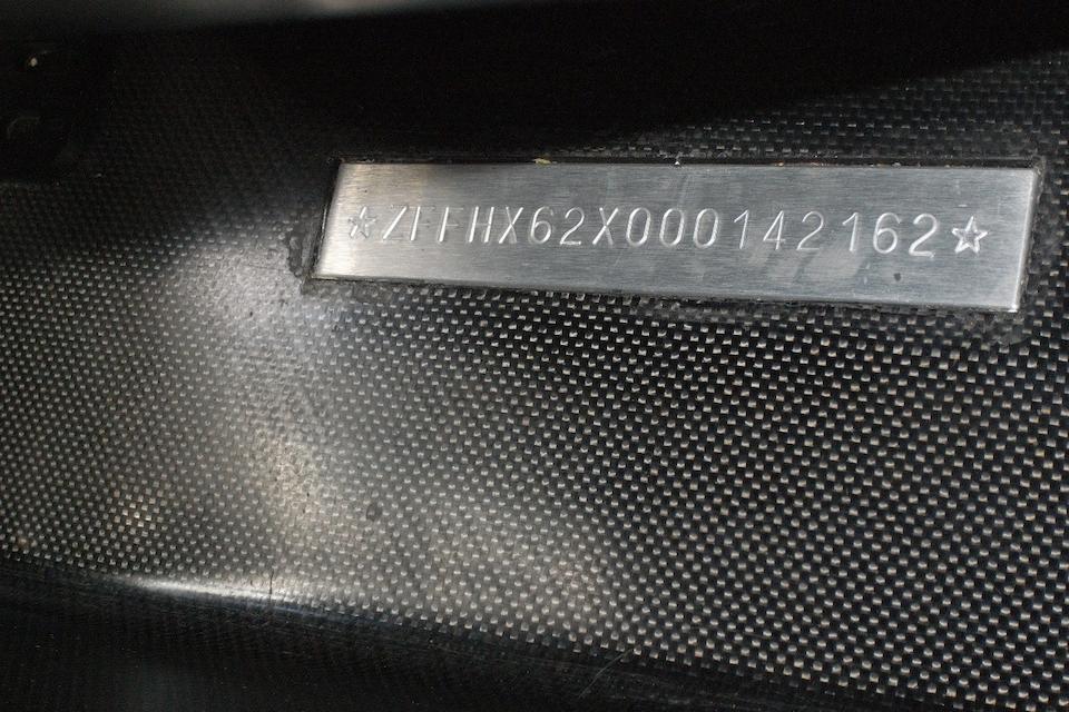 2007  Ferrari FXX Evoluzione Berlinetta  Chassis no. ZFFHX62X000142162