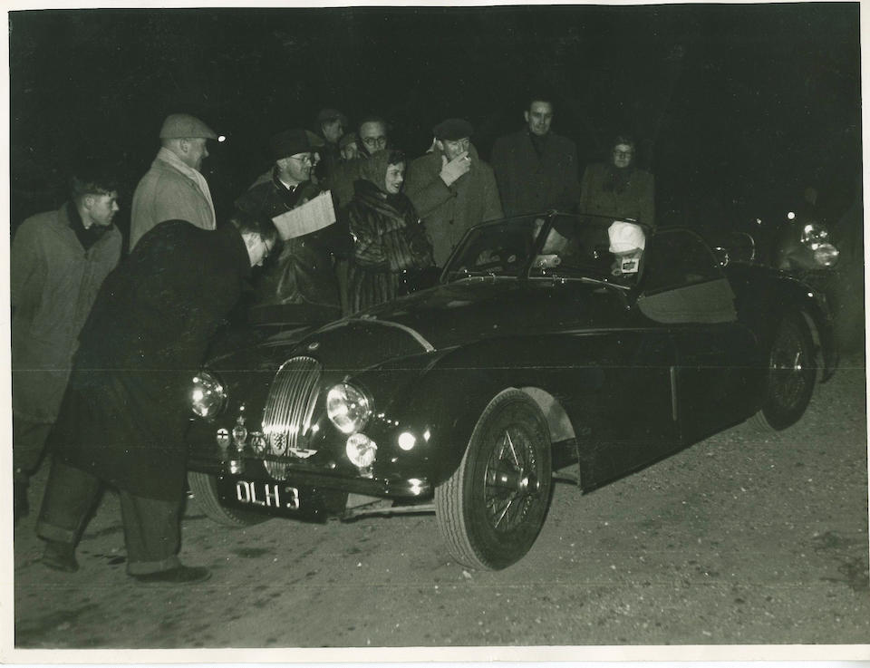 From the estate of the late John Coombs,1950 Jaguar XK120 Roadster  Chassis no. 660280 Engine no. W2853-8