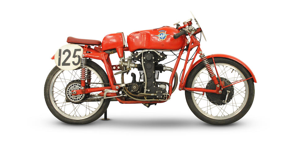 1954 MV Agusta 123.5cc Bialbero Racing Motorcycle Frame no. 150090 Engine no. 150163