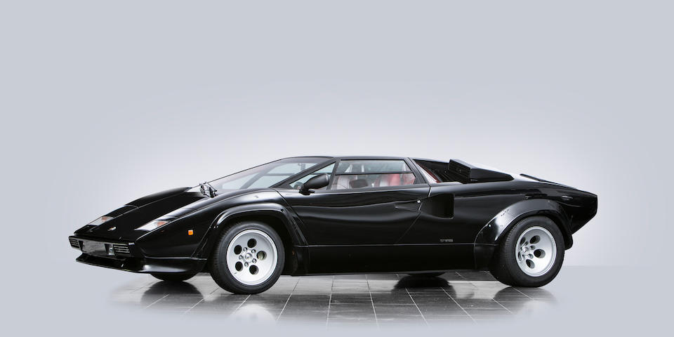 One of only 321 produced,1984 Lamborghini Countach 5000 S Coupé Chassis no. ZA9C00500ELA12708 Engine no. 735