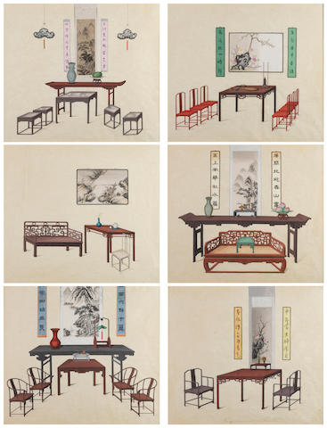 Anonymous (early 19th century) Chinese Furniture Designs