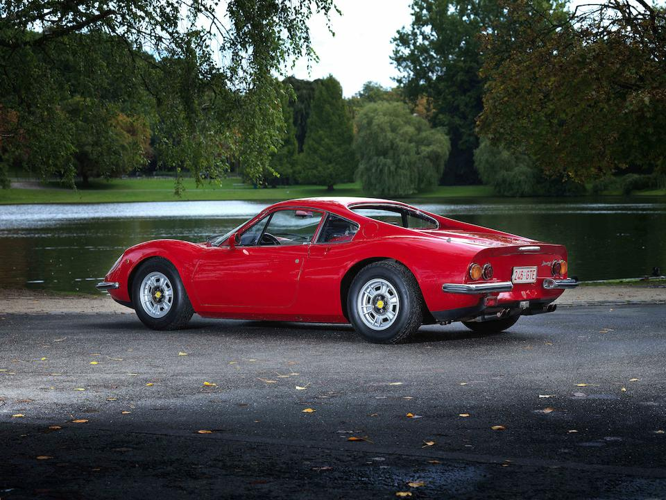 In the same private ownership since 23 years,1973 Ferrari Dino 246GT Coupé Chassis no. 6580 Engine no. 10875