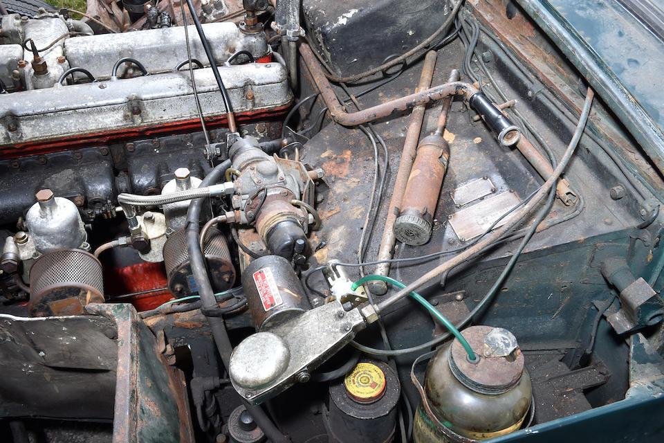 1956 Aston Martin DB2/4 Mark II Drophead Coupé  Chassis no. AM300/1191 Engine no. VB6J/813