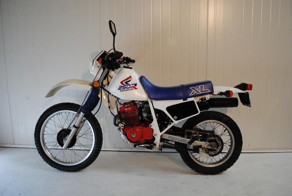 1987 Honda XL250R Frame no. JH2MD1104HK302800 Engine no. MD11E 5303590