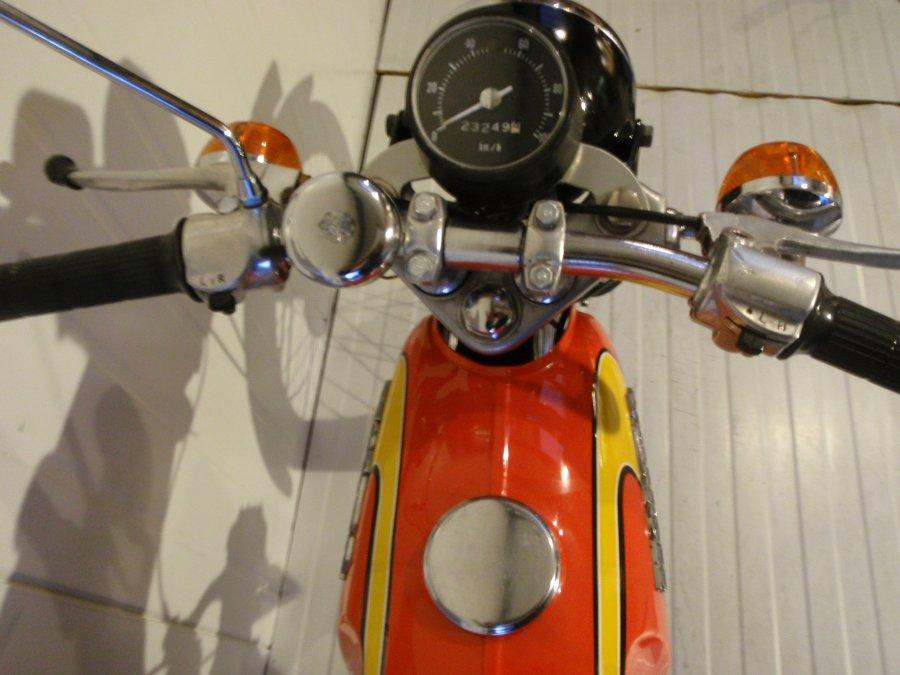 1975 Honda SS50Z Frame no. SS50Z 239058 Engine no. SS50ZE 1104722