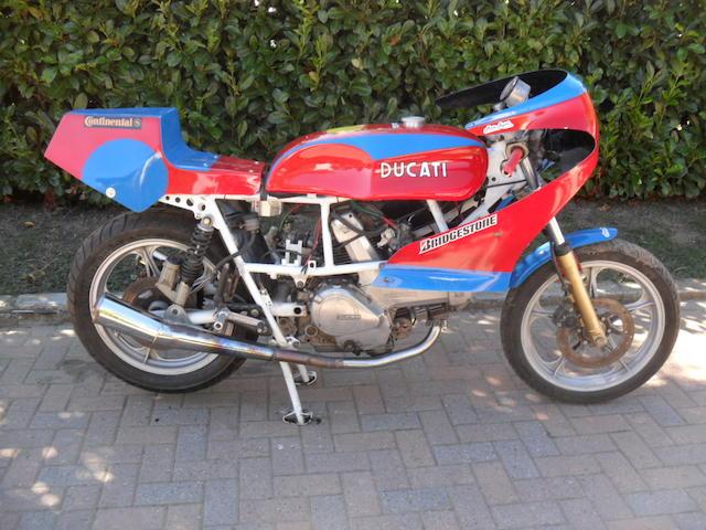 1981 Ducati 350cc 'Café-Racer' Frame no. 358089 Engine no. 32630