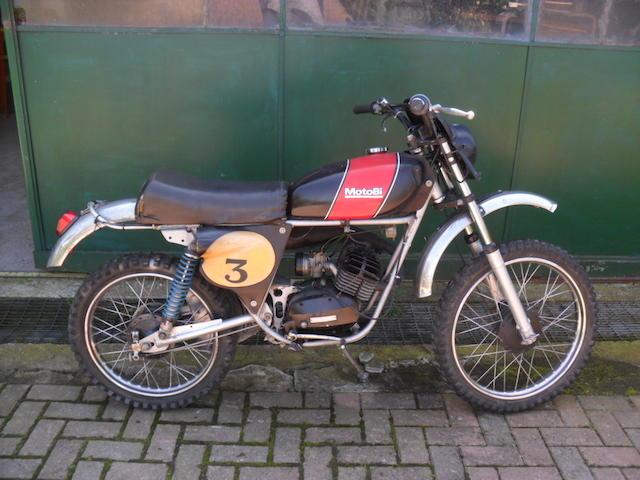 1971 Motobi 50cc Cross,1971 MotoBi 50 Cross Frame no. 10265 Engine no. TBA