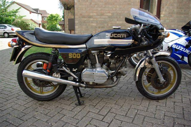 1980 Ducati 900SS Darmah Frame no. 950324 Engine no. 904166
