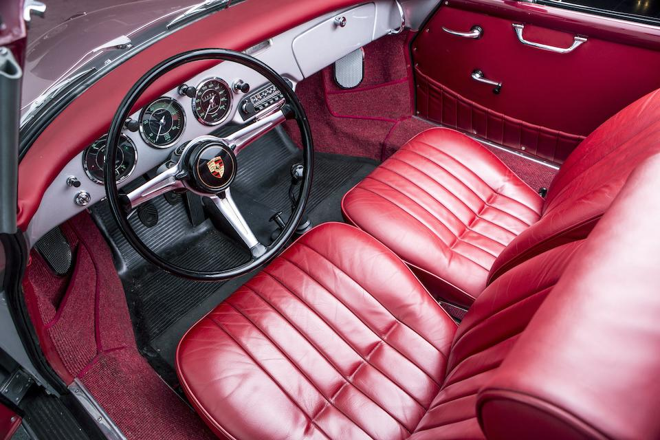 Matching numbers, concours restored,1961 Porsche 356B T5 1600 Super Cabriolet Chassis no. 155409 Engine no. 85105