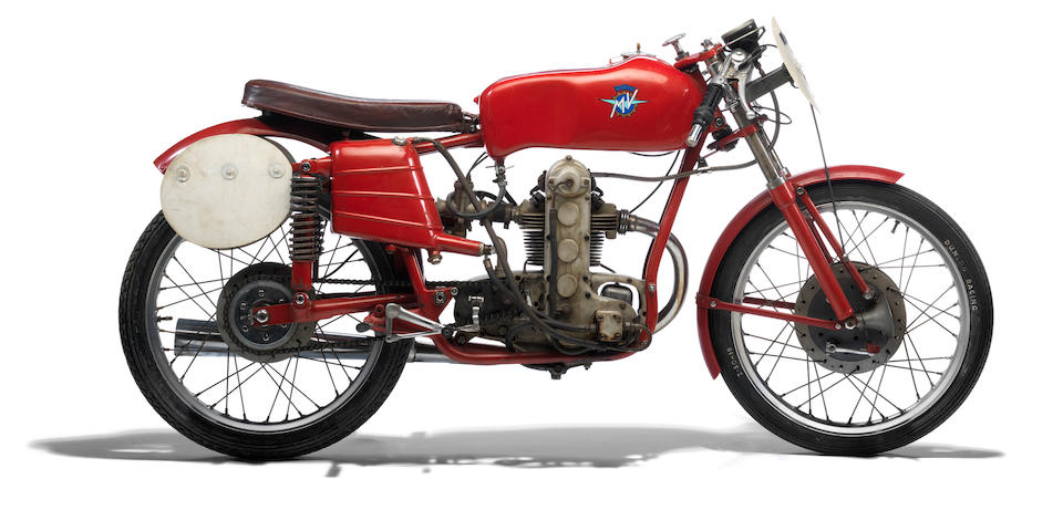 1953 MV Agusta 123.5cc Monoalbero Racing Motorcycle Frame no. 150031 Engine no. 150034