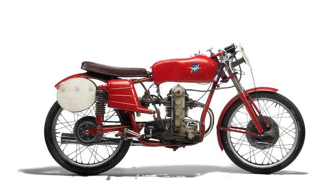 1953 MV Agusta 123.5cc Monoalbero Racing Motorcycle Frame no. 150031 Engine no. 150034