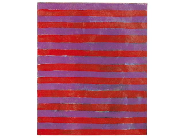 Frank Stella (American, born 1936) Untitled 1959