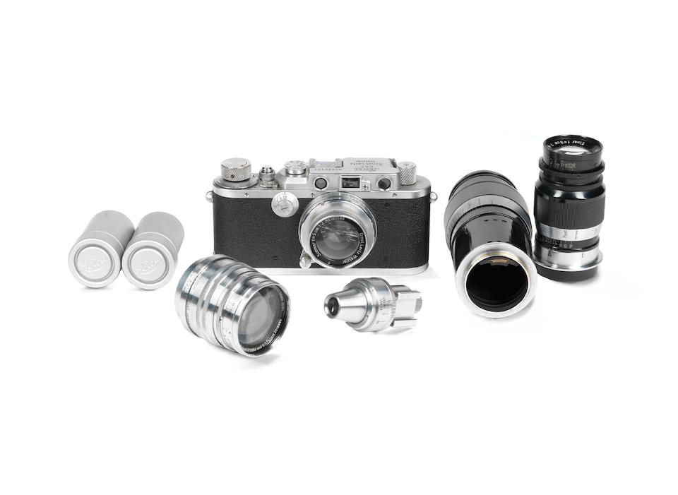 Leica IIIa outfit, c.1936-37