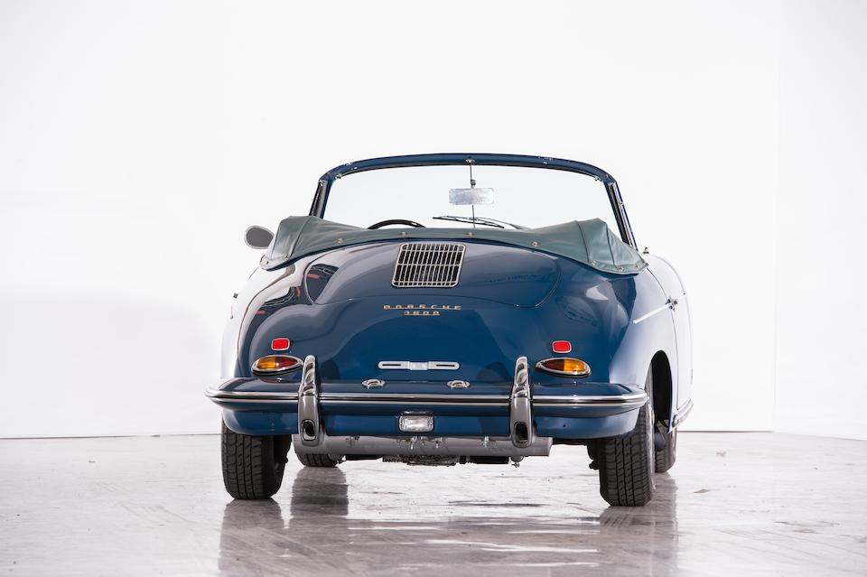 Matching numbers,1961 Porsche 356B T5 1600 Super Cabriolet Chassis no. 154828 Engine no. 605088