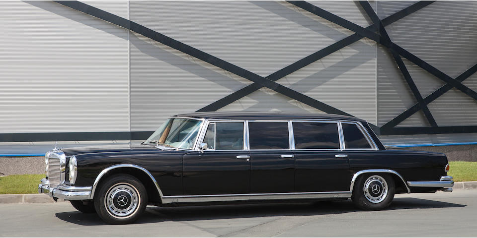 1973 Mercedes-Benz 600 Pullman Limousine Chassis no. 100016 12 002274