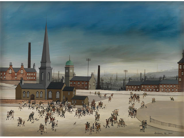 Brian Shields (Braaq) (British, 1951-1997) Home to Tea