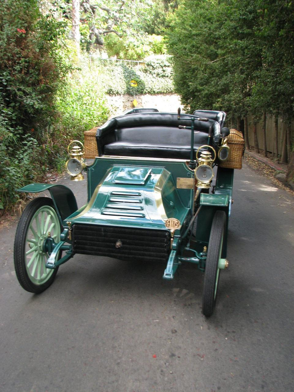 1902 Autocar 10hp Twin-Cylinder Type VIII Rear-Entrance Tonneau  Chassis no. 776 Engine no. 762