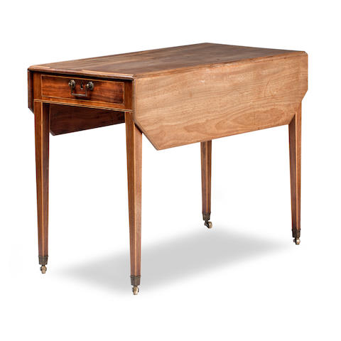 Young and Trotter of Edinburgh, a Scottish mahogany pembroke table