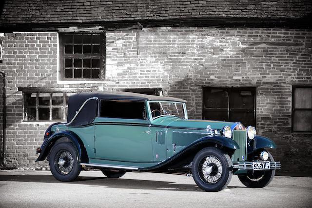 Bonhams : 1933 Lancia Astura 2nd Series Drophead Coupé Chassis no ...
