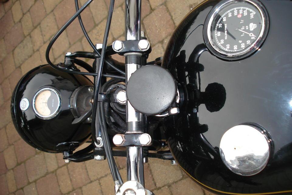 1930 AJS 498cc Model R8 Frame no. R8 61770 Engine no. R8 61770