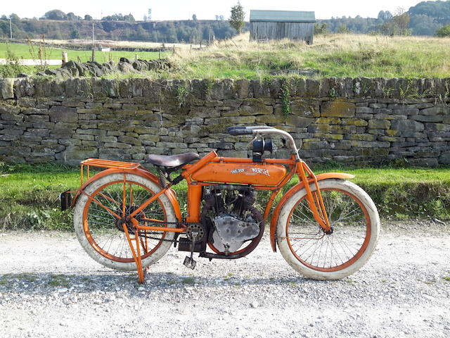 Formerly the property of the late Bernard Thomas,1914 Flying Merkel 980cc V-Twin Frame no. 11692 (DVLA issued) Engine no. FOR 2X 11692