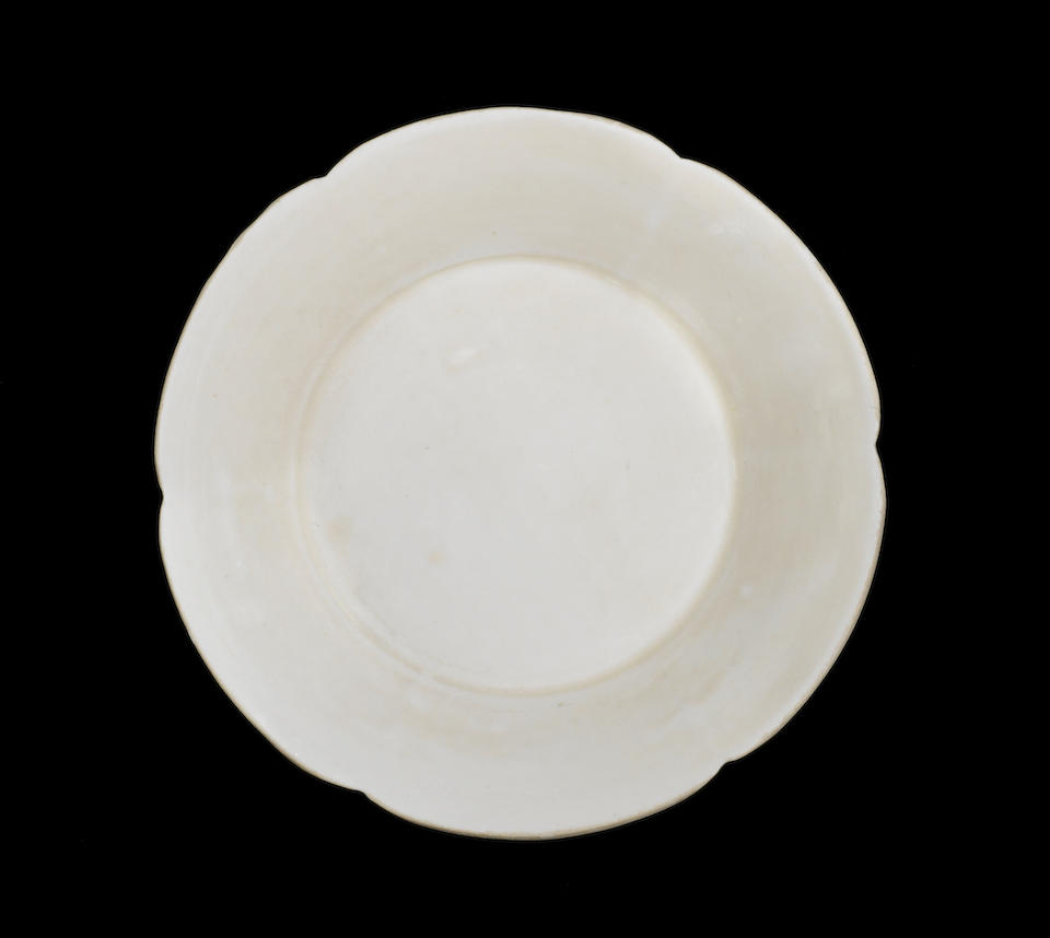 A Dingyao six-lobed dish Northern Song Dynasty