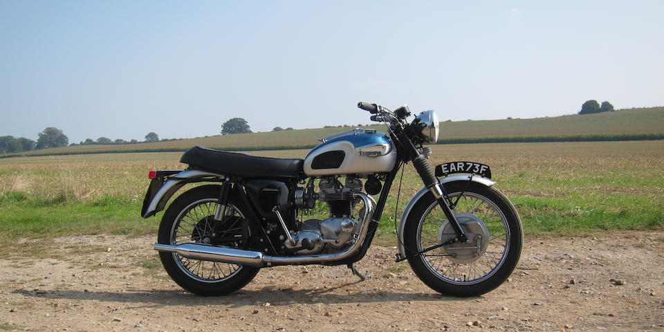 Sold in aid of the NSPCC,1968 Triumph 649cc TR6 Trophy Frame no. TR6R DU82781 Engine no. TR6R DU82781