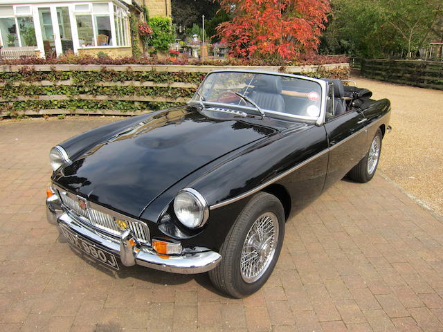 Rebuilt less than 600 miles ago,1971/2010 MGB 4.6-Litre V8 Roadster   Chassis no. GHNS245550 Engine no. XM46D308H5